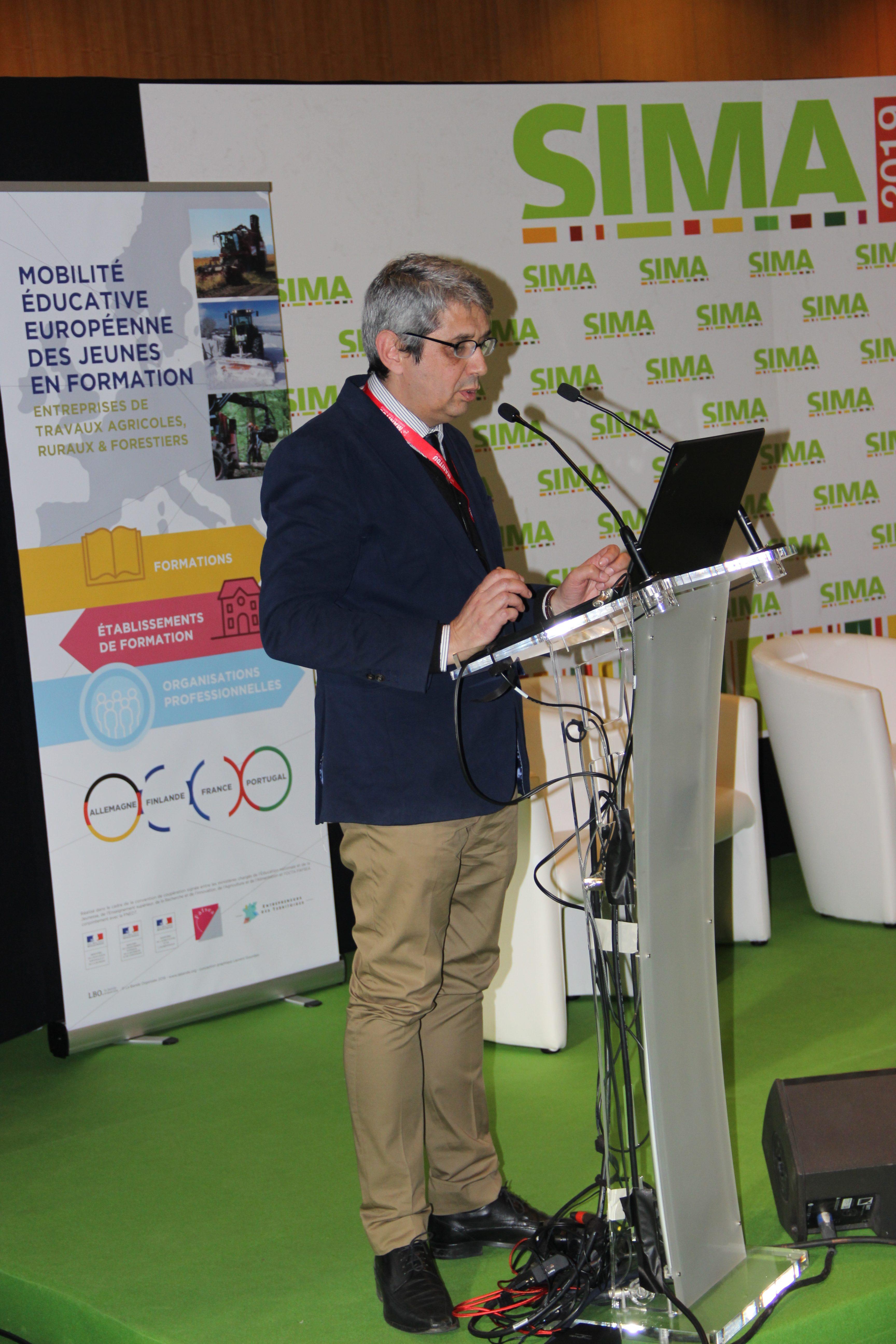 Pedro Serra Ramos, Président de l'ANEFA