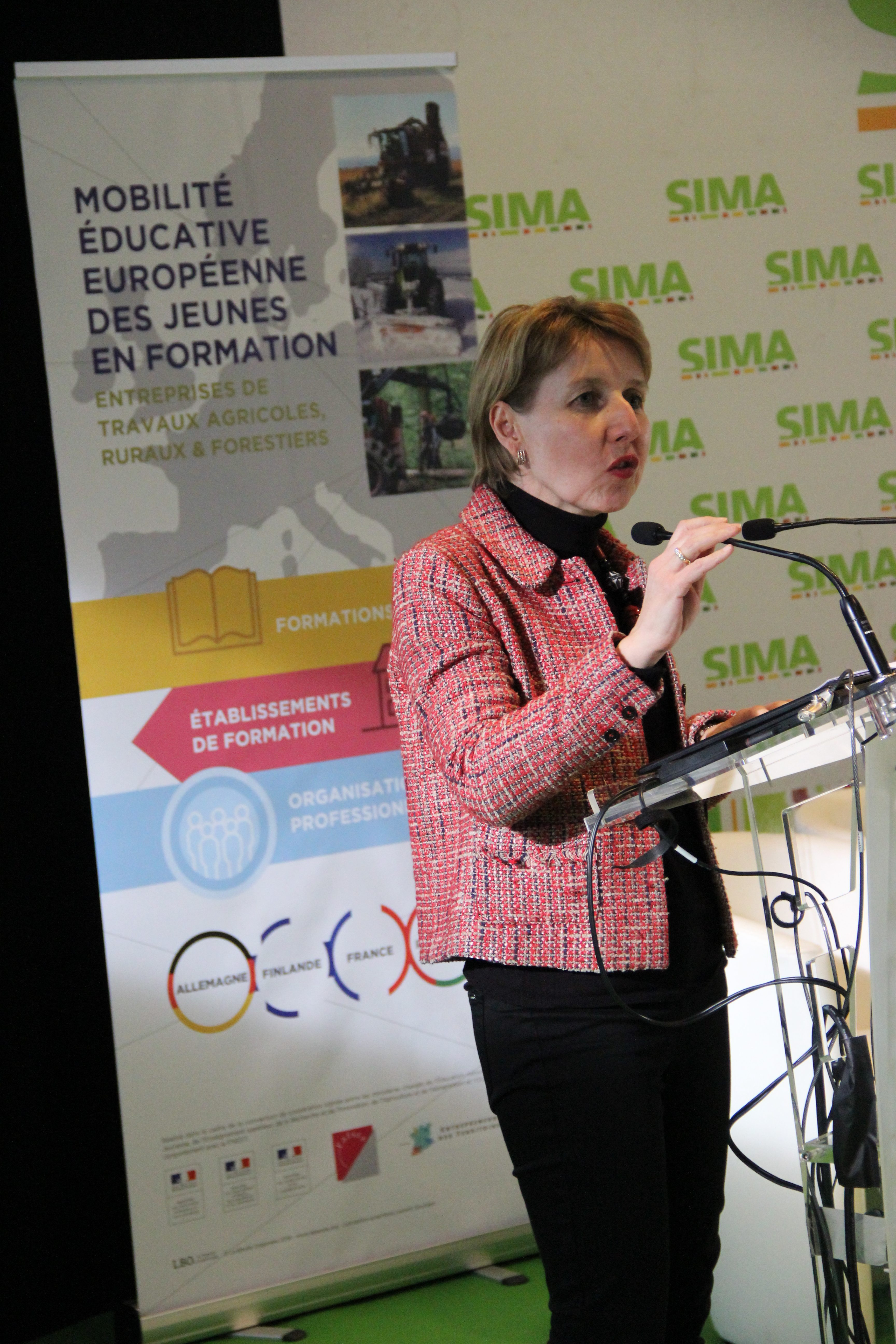 Anne Sander, député européenne.
